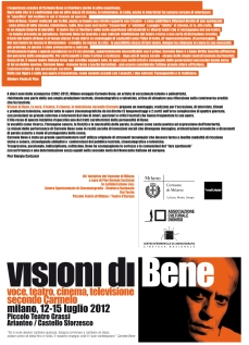 2012 07 11 - Visioni di Bene Flyer 01 Fronte
