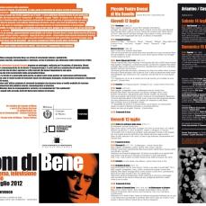 2012 07 11 - Visioni di Bene Flyer Intero